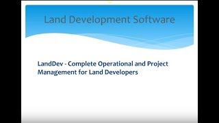 LandDev Solutions 9-28-17