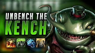 TAHM KENCH THE NEW BEST TANK?! UNBENCH THE KENCH! - League of Legends Gameplay
