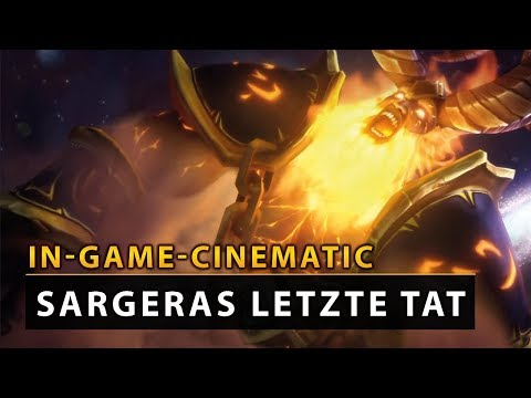 WoW Legion Cinematic - Antorus: Sargeras letzte Tat [EN] | Vanion.eu
