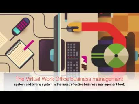 Virtual Work Office Business Management System Online