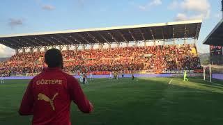 GÖZTEPE - KAYSERİSPOR  TRİBÜNLER 2019