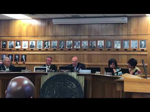Vermilion Parish School Board President reads complaints