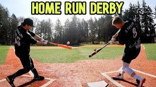Bat Bros HOME RUN DERBY   Will vs. JT. vs. Cam