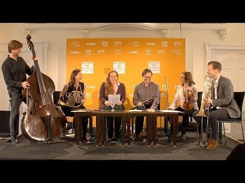 The Berliner Philharmoniker's Live Lounge at the 2014 Baden-Baden Easter Festival