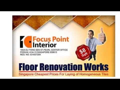 Interior Renovation Singapore - Floor Works