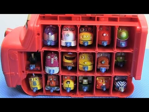 17 Chuggington Trains in Wilson Carry Case