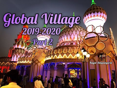 Dubai Global Village 2019-2020 Part 2 / Global Village Vlog in Tamil