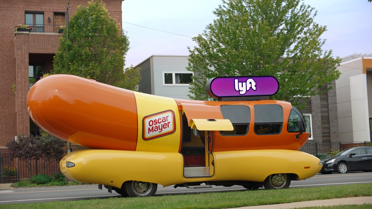 Order A Lyft And You Could Get The Oscar Mayer Wienermobile