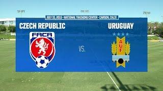 Under-18 NTC Invitational: Czech Republic vs. Uruguay - July 15, 2015