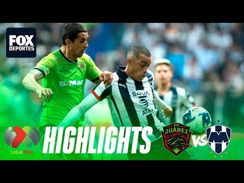 Rayados de Monterrey 1-1 FC Juárez | HIGHLIGHTS | Jornada 6 | Liga MX