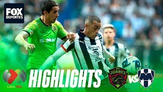 Rayados de Monterrey 1-1 FC Juárez   HIGHLIGHTS   Jornada 6   Liga MX