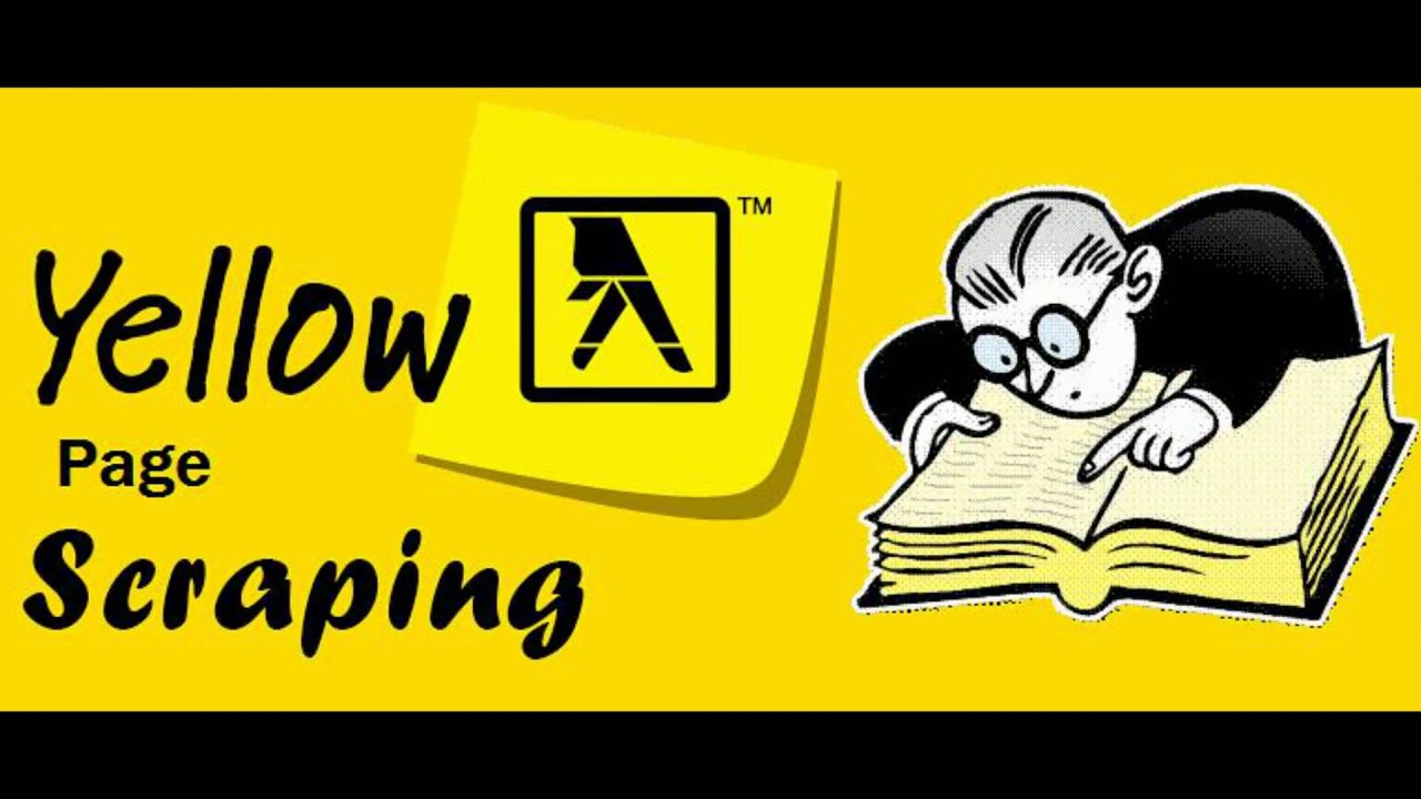 Image result for yellow pages scraper