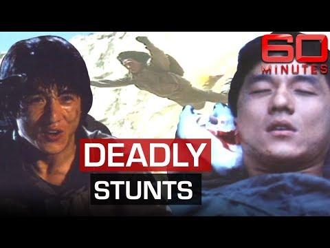 Action man Jackie Chan's death-defying movie stunts | 60 Minutes Australia