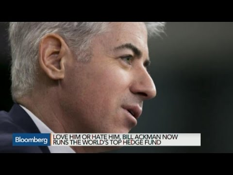 Ackman Rides Allergan Deal to Top of Hedge Fund Heap