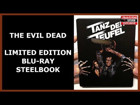 Download THE EVIL DEAD - LIMITED BLU-RAY STEELBOOK UNBOXING - MEDIA MARKT/SATURN EXCLUSIVE - TANZ DER TEUFEL