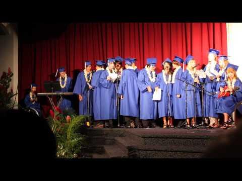 Honolulu Waldorf High School - Graduation Song