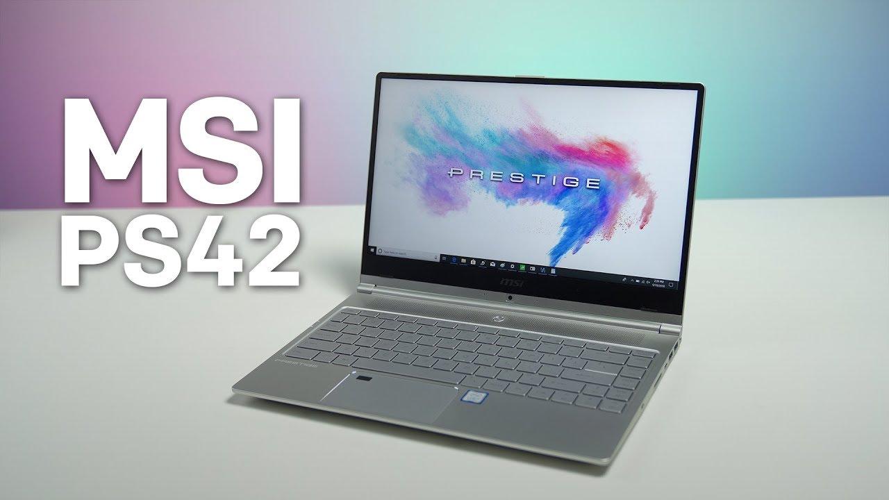 MSI Prestige PS42 review: A slick, sleek and powerful Ultrabook