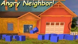КАК ЛЕГКО ПОПАСТЬ НА 2 ЭТАЖ Angry Neighbor! Секрет соседа