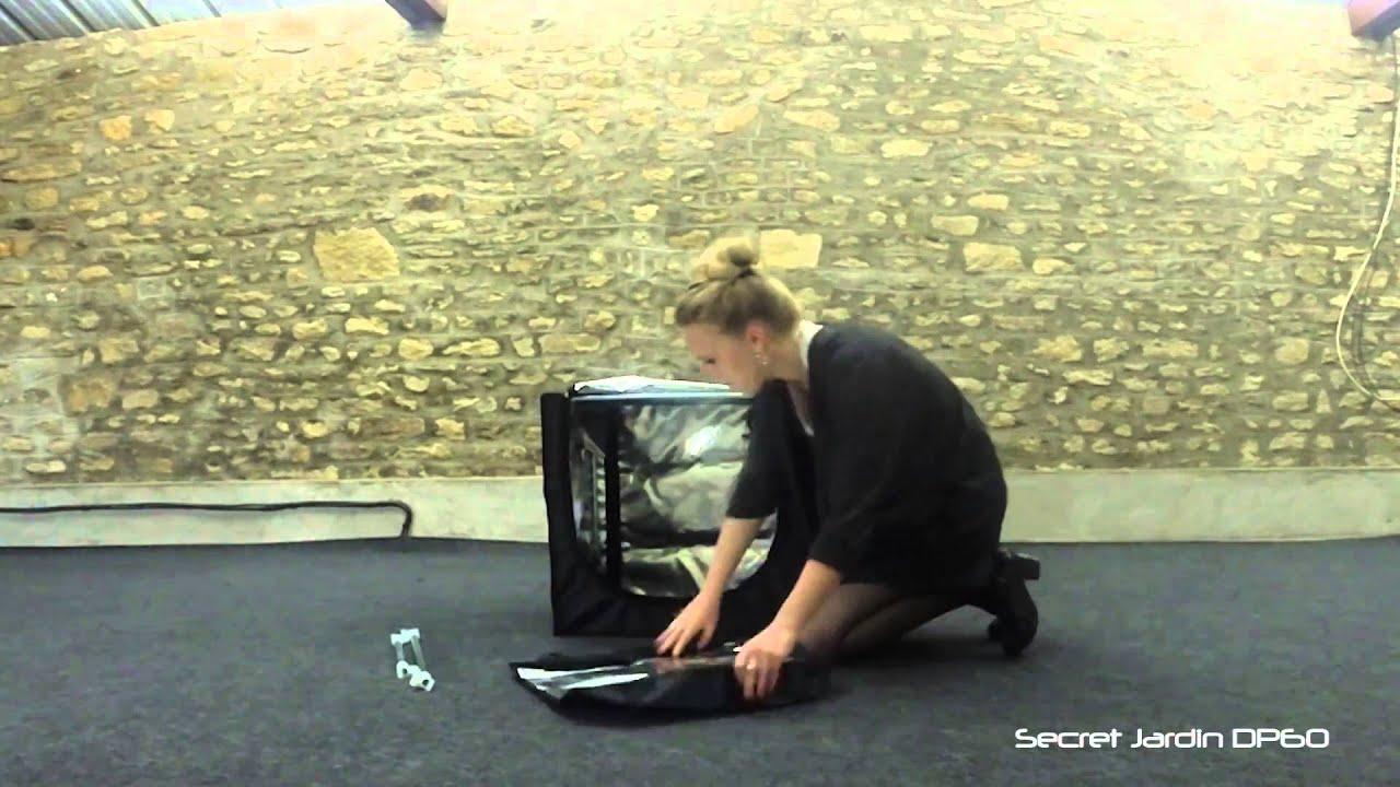 Growbox aufbau secret jardin dark propagator dp60 youtube for Buy secret jardin