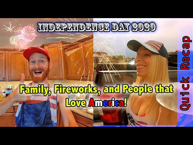 Family, Fireworks and People Who LOVE AMERICA! | Intentional Adventure