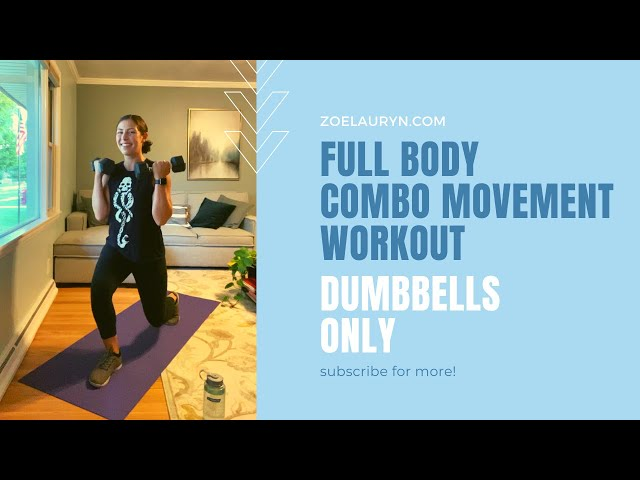 24 min. Full Body Dumbbell Workout