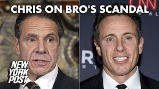 Chris Cuomo addresses brother Andrew's sexual harassment scandal | New York Post