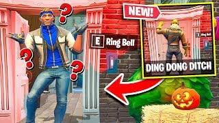 Ring and Hide *NEW* Fortnite Troll! (HILARIOUS)