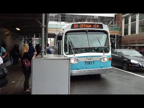 Transit Special: STO GM New Look 7901 On Route 44/59