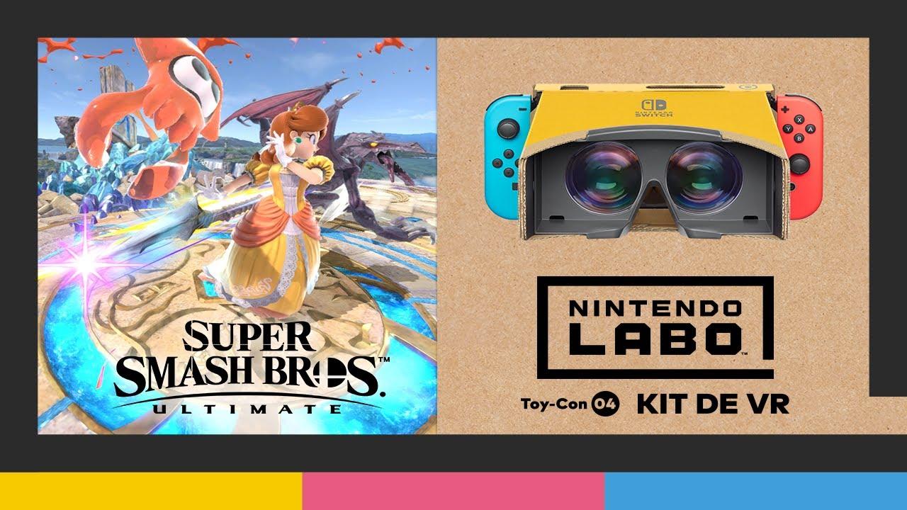 Nintendo Labo: kit de VR + Super Smash Bros. Ultimate (Nintendo Switch)