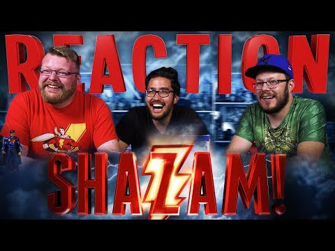 SHAZAM! - Official Teaser Trailer REACTION!!