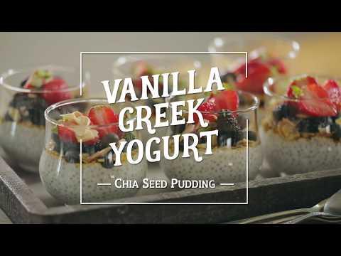 Vanilla Greek Yogurt Chia Seed Pudding From METRO