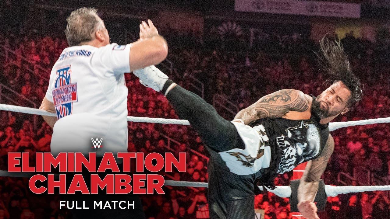 FULL MATCH - Shane McMahon & Miz vs. Usos – SmackDown Tag Team Title Match: Elimination Chamber 2019