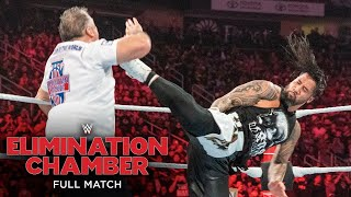 FULL MATCH - Shane McMahon & Miz vs. Usos - SmackDown Tag Team Title Match: Elimination Chamber 2019