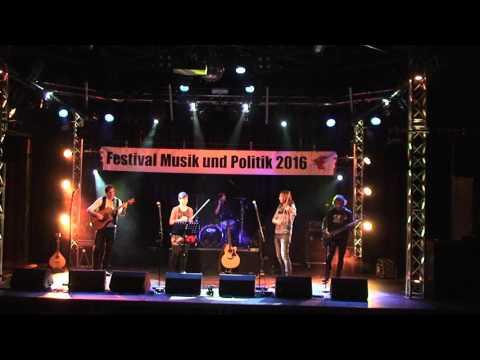 Larkin Independent Irish Folk & Rock in der Wabe Berlin 2016