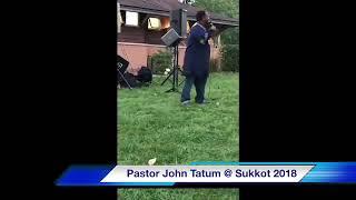 Pastor John Ministering In Song @ NOY Sukkot 2018