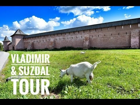 "Golden Ring Tour ""Vladimir & Suzdal"" one day  trip from Moscow   2018"