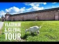 """Golden Ring Tour """"Vladimir & Suzdal"""" one day  trip from Moscow   2018"""