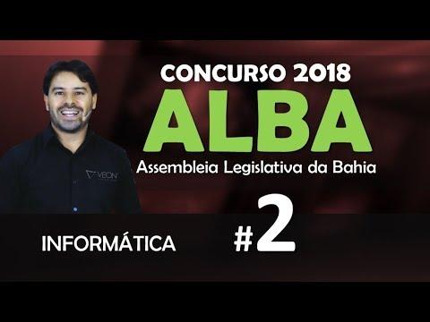 Concurso Assembleia Legislativa Da Bahia | ALBA 2018 | Aula 2