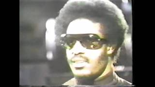 Stevie Wonder - Innervisions - Promo - In Studio Performance + Interview 1973
