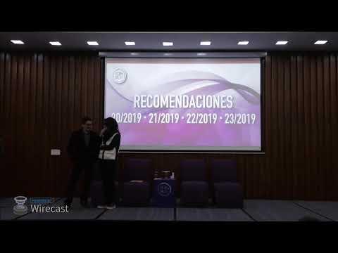 Presentación de Recomendaciones 20/2019, 21/2019, 22/2019, 23/2019