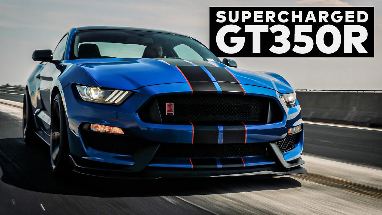 MUST HEAR: Mustang GT350R Supercharged by Hennessey!
