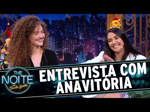 Entrevista com Anavitória | The Noite (20/12/16)