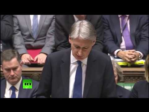 Hammond reveals his Autumn Statement FULL