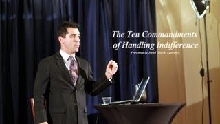 The Ten Commandments of Handling Indifference   Jared Psych Laurence   Full Length HD