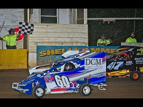 Shellhammers Speedway Feature win