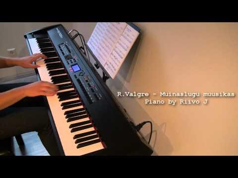 Raimond Valgre - Muinaslugu muusikas (A Little Story in the Music) (Piano Cover)