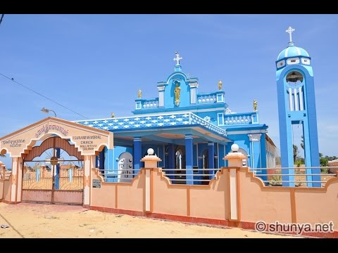 Tsunami memorial Mullaitivu church Sri Lanka