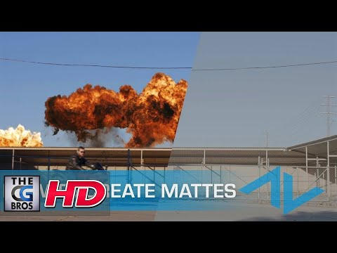 """CGI 3D & VFX Tutorials: """"Creating Mattes in After Effects"""" …"""