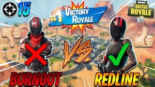 WHICH BIKER SKIN IS BETTER?!? Redline 15 Kill Solo Live Gameplay (Fortnite Battle Royale)