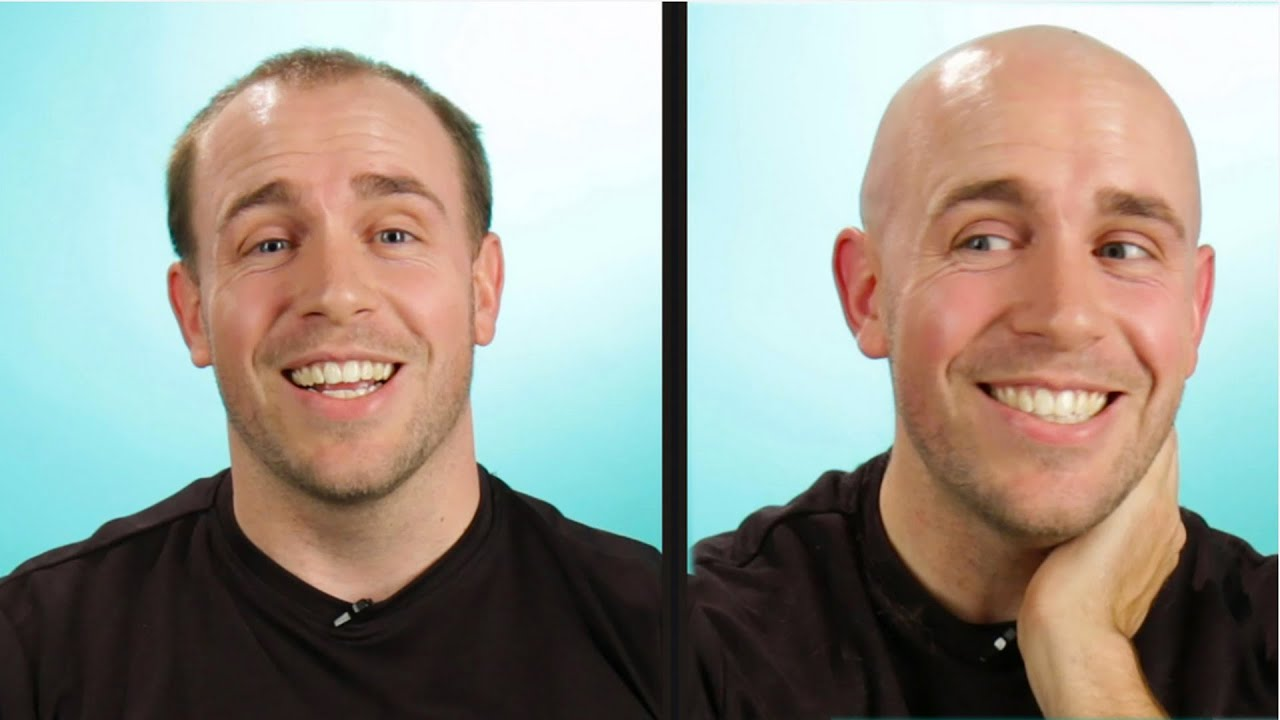 Balding vs shaved head